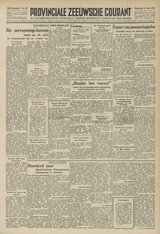 Provinciale Zeeuwse Courant 1947-02-15