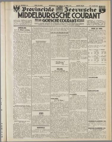 Middelburgsche Courant 1936-04-29