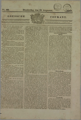 Goessche Courant 1842-08-18