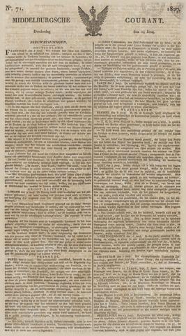 Middelburgsche Courant 1827-06-14