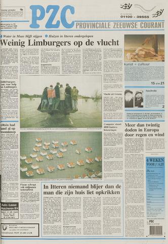 Provinciale Zeeuwse Courant 1995-01-27