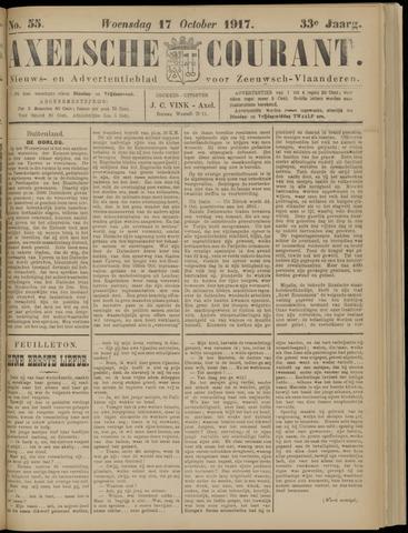 Axelsche Courant 1917-10-17