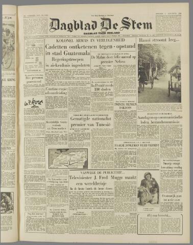 de Stem 1954-08-03