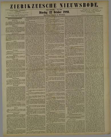 Zierikzeesche Nieuwsbode 1889-10-22