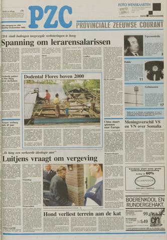 Provinciale Zeeuwse Courant 1992-12-15
