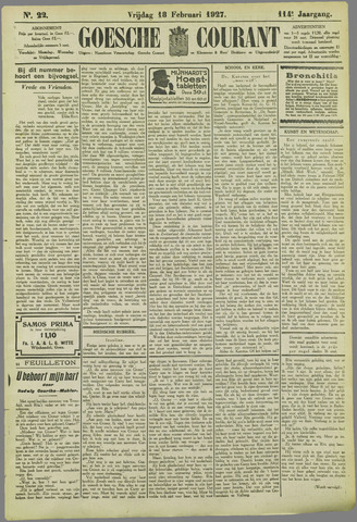 Goessche Courant 1927-02-18