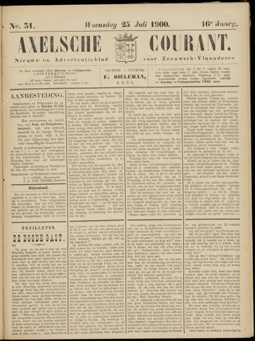 Axelsche Courant 1900-07-25