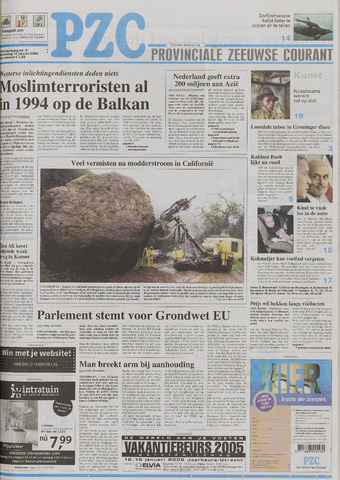 Provinciale Zeeuwse Courant 2005-01-12