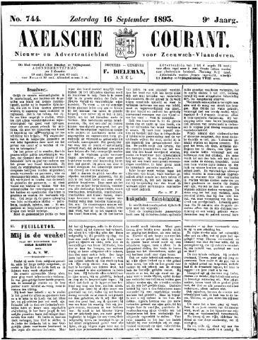 Axelsche Courant 1893-09-16