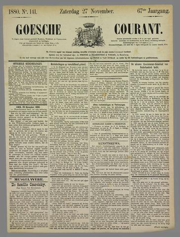 Goessche Courant 1880-11-27