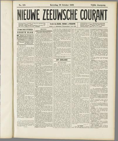 Nieuwe Zeeuwsche Courant 1909-10-30