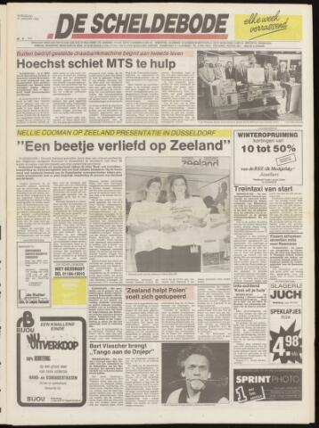 Scheldebode 1990-01-25