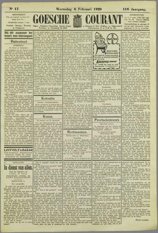 Goessche Courant 1929-02-06