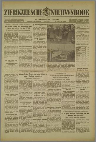 Zierikzeesche Nieuwsbode 1952-09-25
