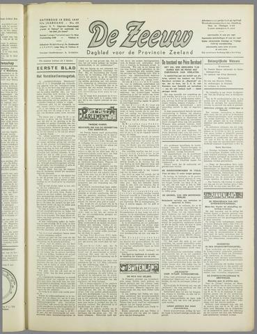 De Zeeuw. Christelijk-historisch nieuwsblad voor Zeeland 1937-12-18