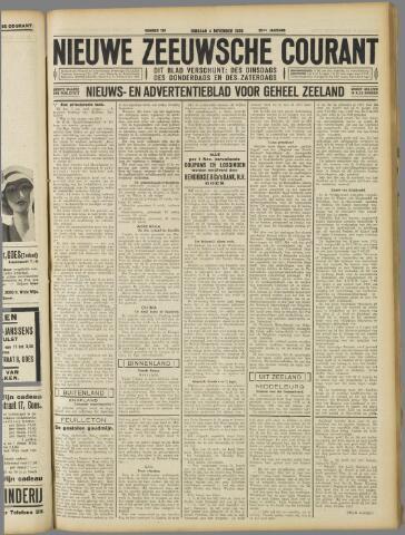 Nieuwe Zeeuwsche Courant 1930-11-04
