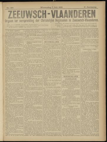 Luctor et Emergo. Antirevolutionair nieuws- en advertentieblad voor Zeeland / Zeeuwsch-Vlaanderen. Orgaan ter verspreiding van de christelijke beginselen in Zeeuwsch-Vlaanderen 1920-07-07