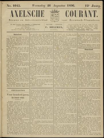 Axelsche Courant 1896-08-26