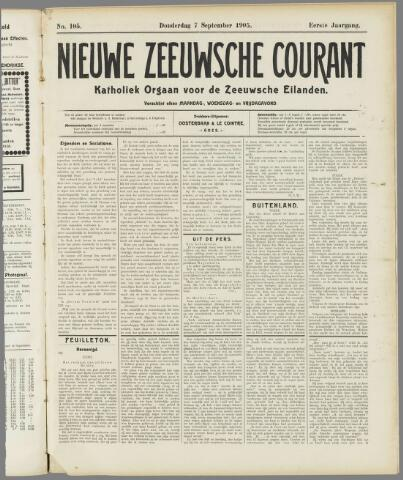 Nieuwe Zeeuwsche Courant 1905-09-07