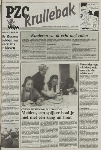 Provinciale Zeeuwse Courant katern Krullenbak (1981-1999) 1989-04-11