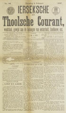 Ierseksche en Thoolsche Courant 1887-02-05