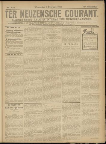 Ter Neuzensche Courant. Algemeen Nieuws- en Advertentieblad voor Zeeuwsch-Vlaanderen / Neuzensche Courant ... (idem) / (Algemeen) nieuws en advertentieblad voor Zeeuwsch-Vlaanderen 1928-02-08