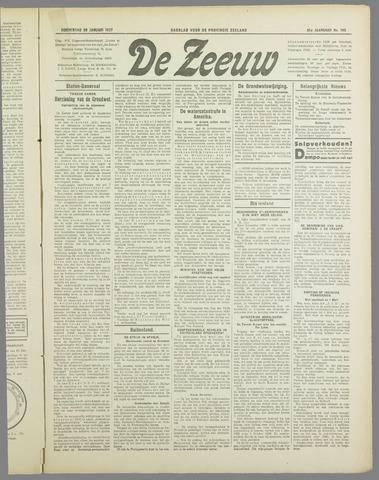 De Zeeuw. Christelijk-historisch nieuwsblad voor Zeeland 1937-01-28