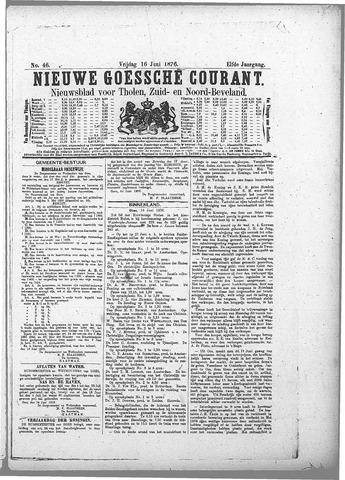 Nieuwe Goessche Courant 1876-06-16