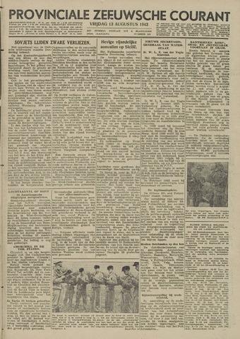 Provinciale Zeeuwse Courant 1943-08-13