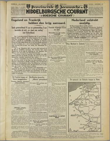 Middelburgsche Courant 1939-09-04