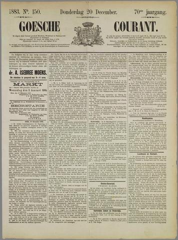 Goessche Courant 1883-12-20
