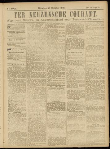Ter Neuzensche Courant. Algemeen Nieuws- en Advertentieblad voor Zeeuwsch-Vlaanderen / Neuzensche Courant ... (idem) / (Algemeen) nieuws en advertentieblad voor Zeeuwsch-Vlaanderen 1919-10-21