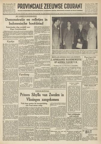 Provinciale Zeeuwse Courant 1952-10-18