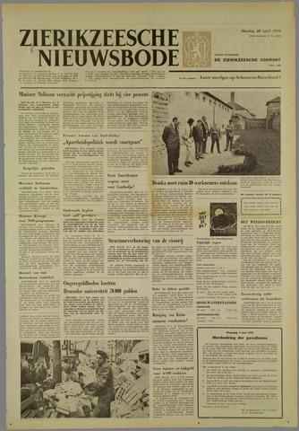 Zierikzeesche Nieuwsbode 1970-04-28
