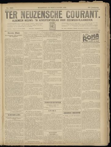 Ter Neuzensche Courant. Algemeen Nieuws- en Advertentieblad voor Zeeuwsch-Vlaanderen / Neuzensche Courant ... (idem) / (Algemeen) nieuws en advertentieblad voor Zeeuwsch-Vlaanderen 1929-09-16
