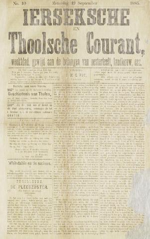 Ierseksche en Thoolsche Courant 1885-09-19