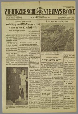 Zierikzeesche Nieuwsbode 1959-12-17