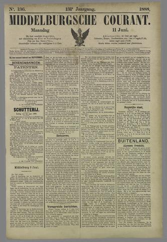 Middelburgsche Courant 1888-06-11