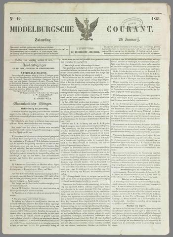 Middelburgsche Courant 1861-01-26