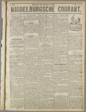 Middelburgsche Courant 1922-10-30