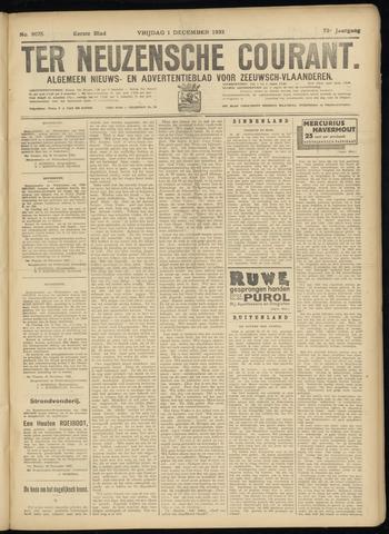 Ter Neuzensche Courant. Algemeen Nieuws- en Advertentieblad voor Zeeuwsch-Vlaanderen / Neuzensche Courant ... (idem) / (Algemeen) nieuws en advertentieblad voor Zeeuwsch-Vlaanderen 1933-12-01