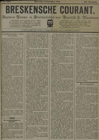 Breskensche Courant 1914-09-05
