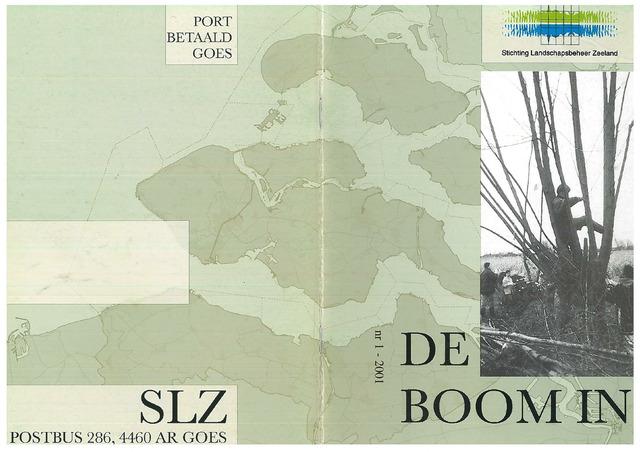Landschapsbeheer Zeeland - de Boom in 2001-03-01
