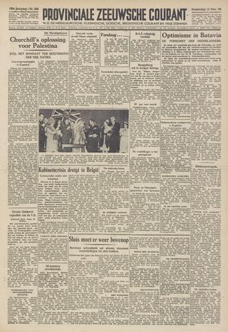 Provinciale Zeeuwse Courant 1946-11-14