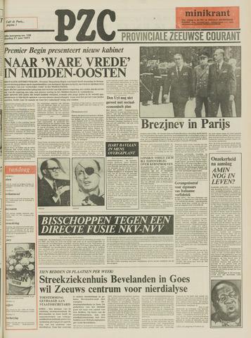 Provinciale Zeeuwse Courant 1977-06-21