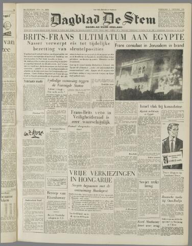 de Stem 1956-10-31