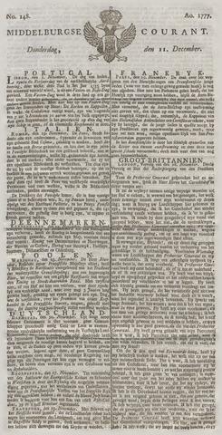 Middelburgsche Courant 1777-12-11