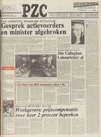 Provinciale Zeeuwse Courant 1980-10-16