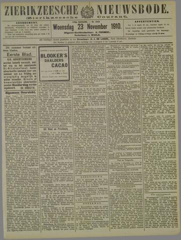 Zierikzeesche Nieuwsbode 1910-11-23