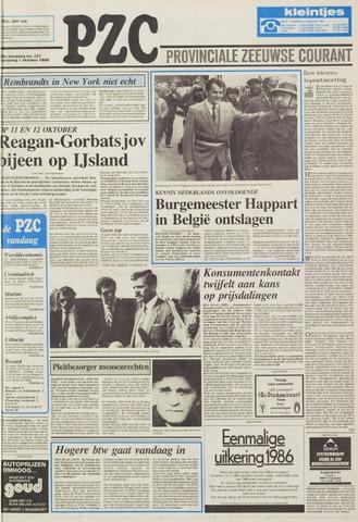 Provinciale Zeeuwse Courant 1986-10-01